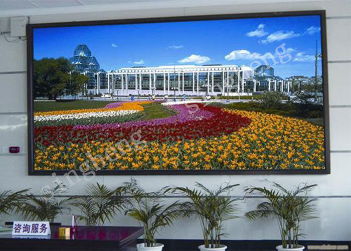 P4 Small Full Color LED Display 1R1G1B Pixel Configuration 97% Uniformity
